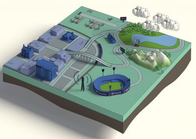 Concept 3D Illustration