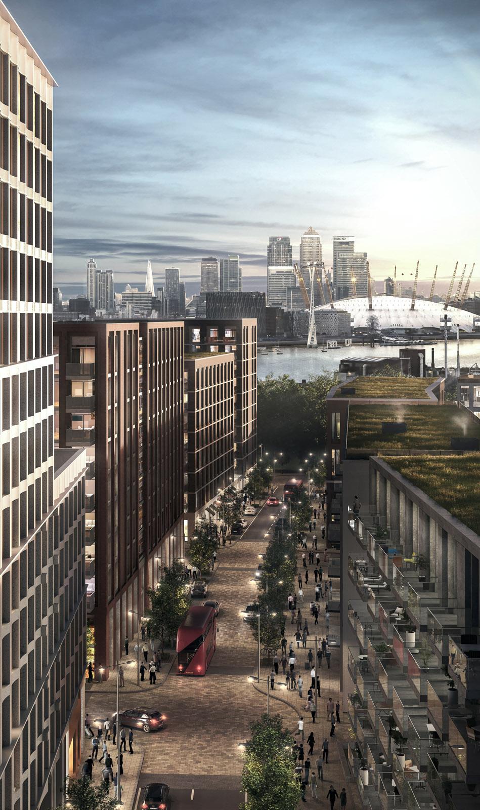 London Resi development - 02 view