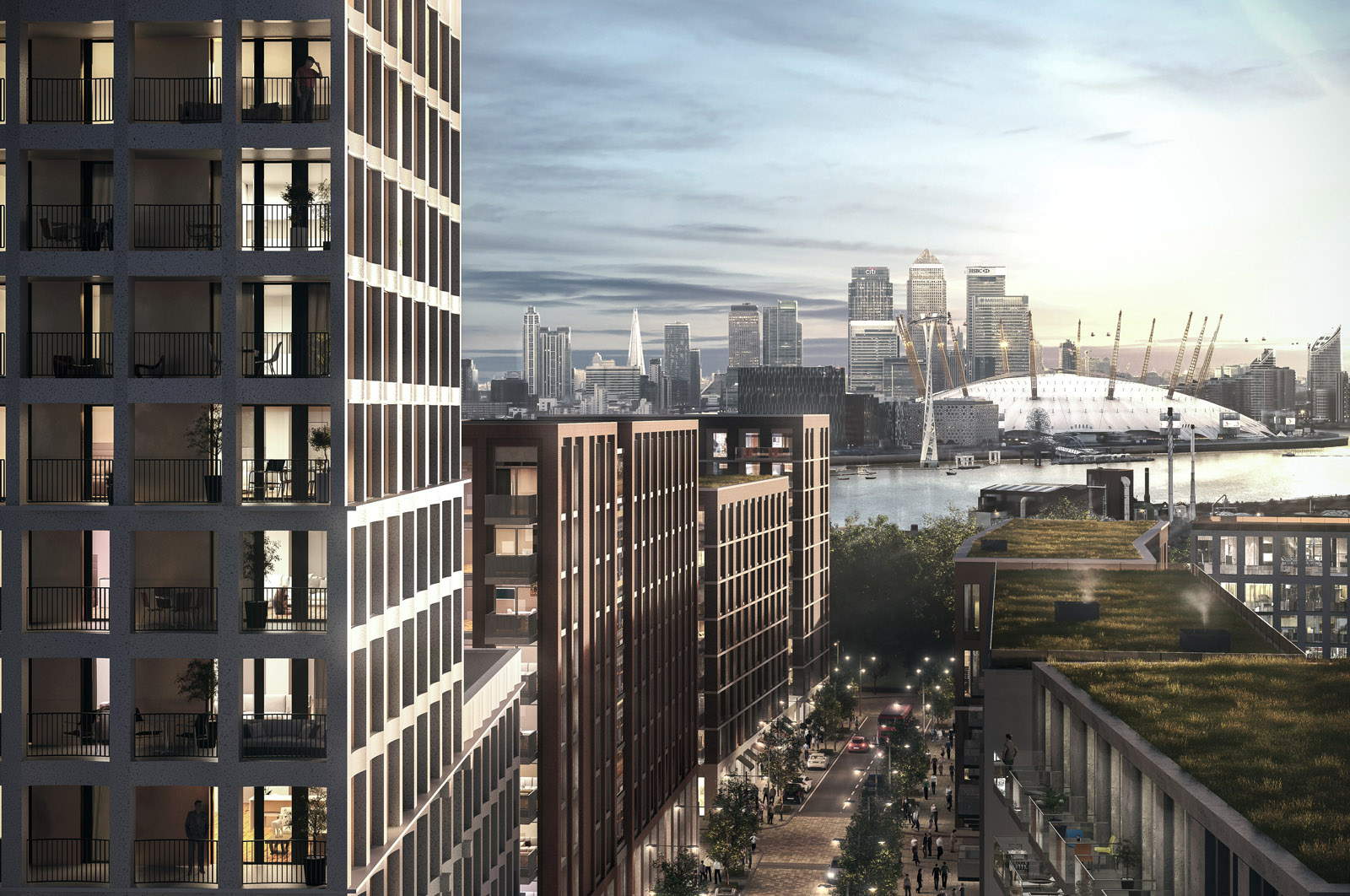 London Resi development - 02 hover shot