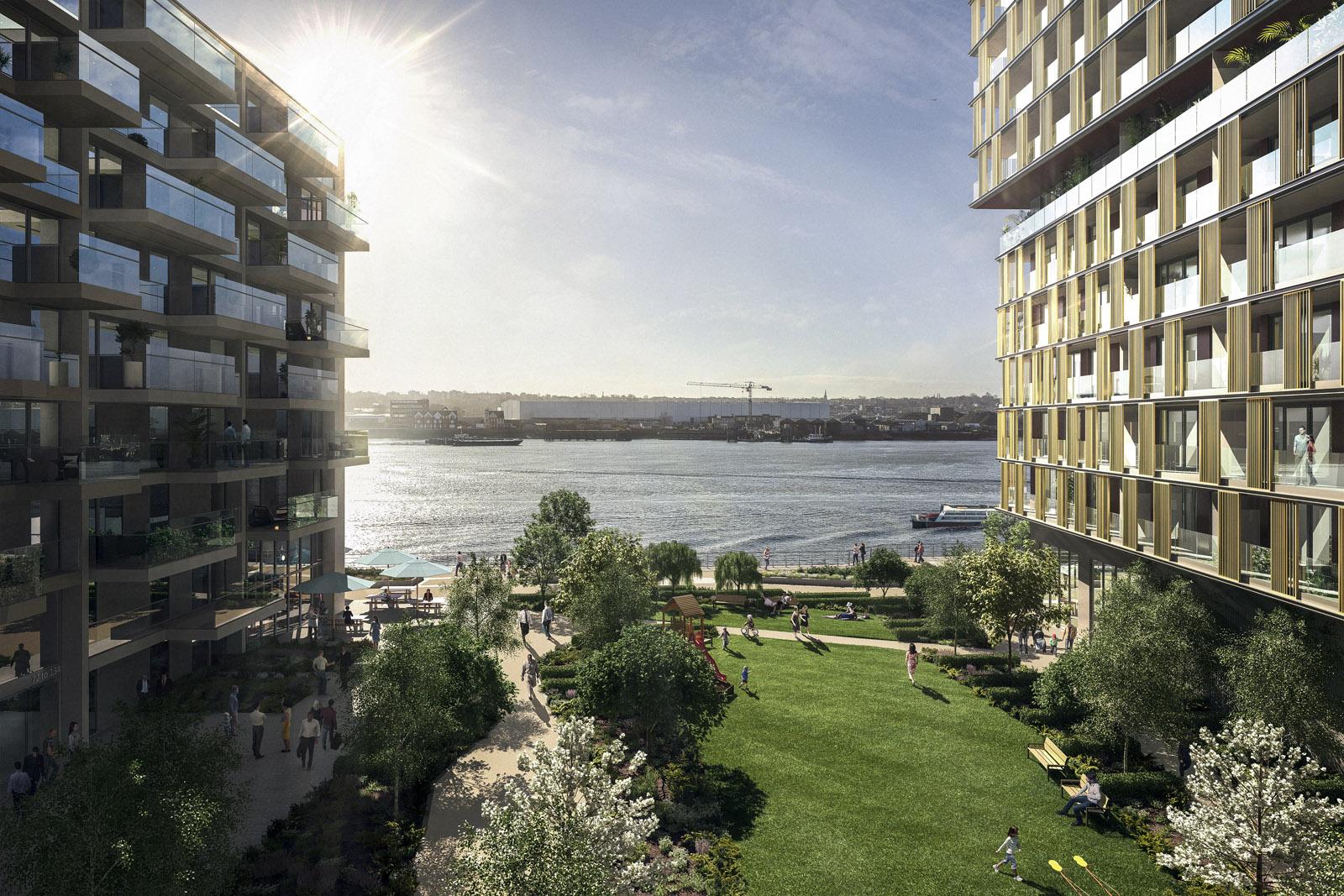 London Resi development - Thames view