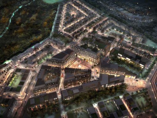 Pinewood Studios Aerial View