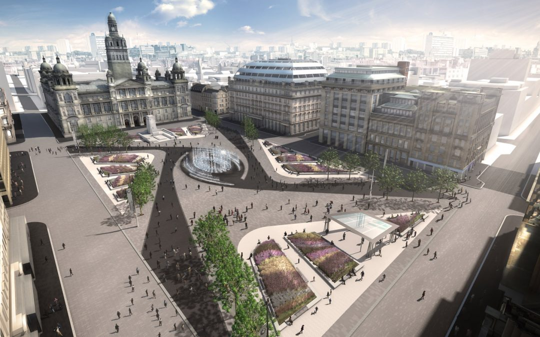 Glasgow's George Square design proposal