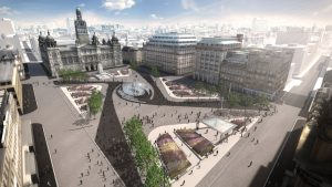 Glasgow George Square design proposal