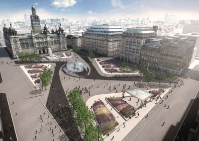 Glasgow's George Square design proposal