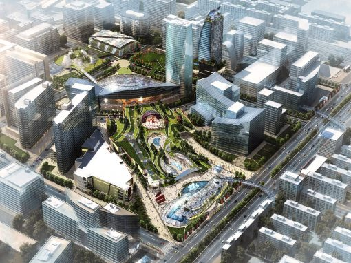 Beijing Times Square redevelopment proposal