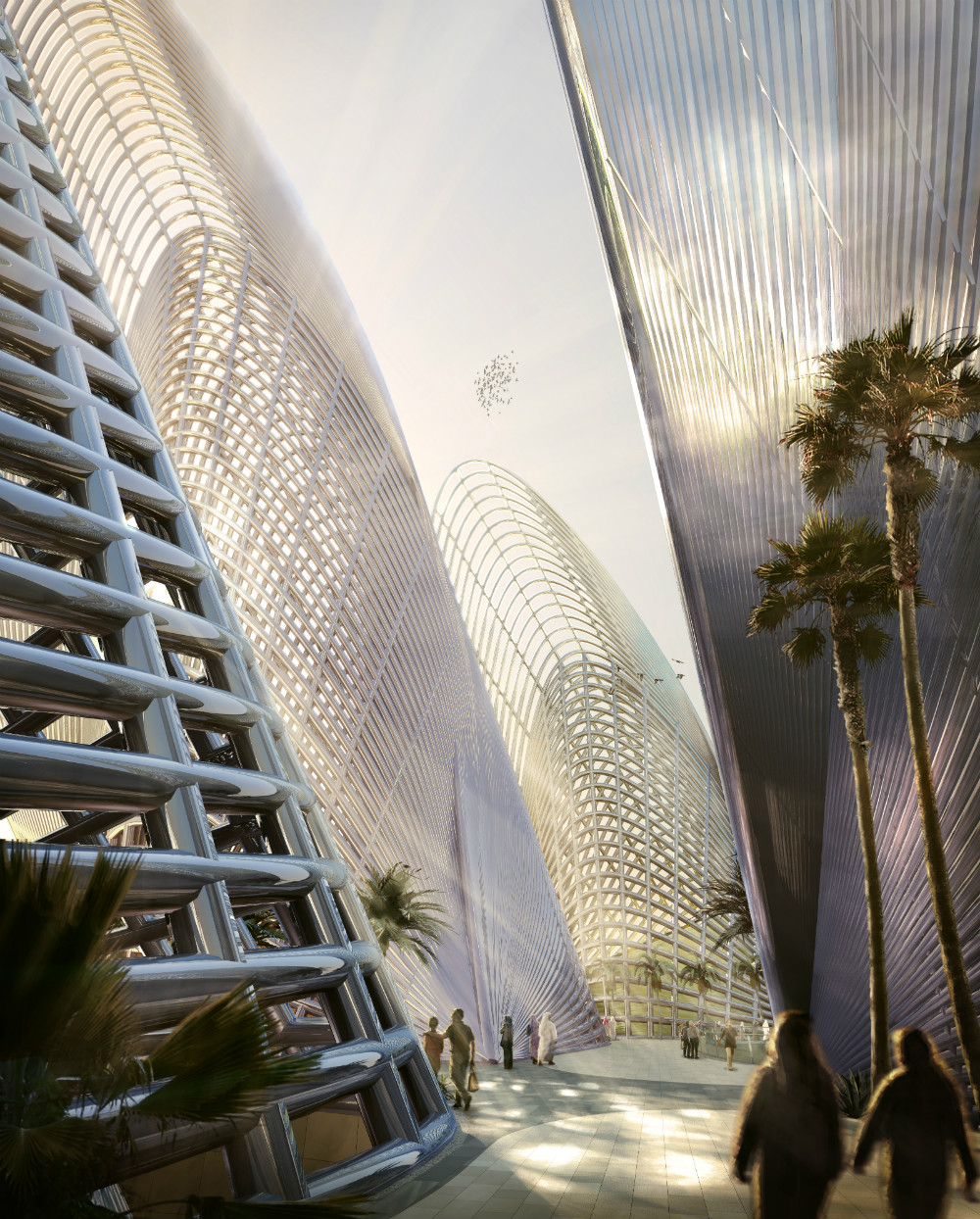 Sheikh Zayed Museum design - Foster + Partners