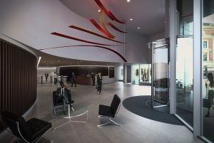 Office foyer / reception