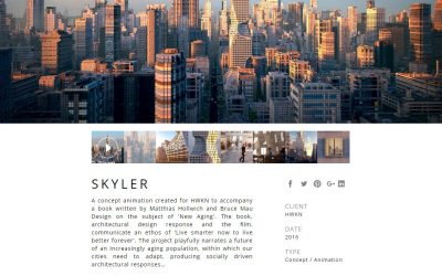 Factory Fifteen's Skyler Project
