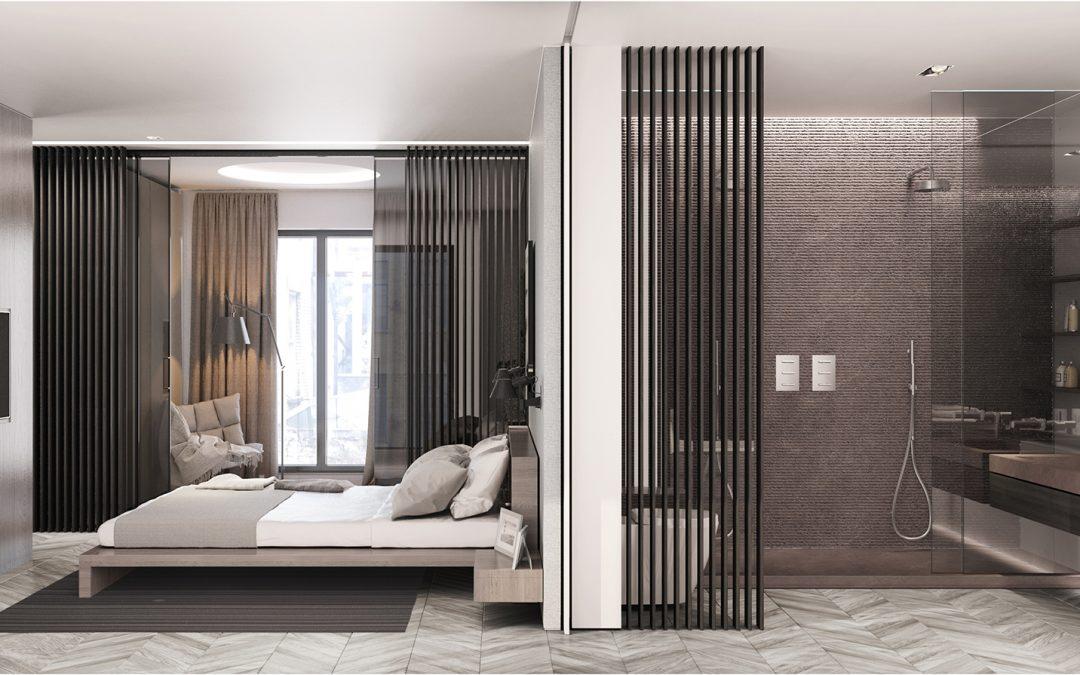 Luxury Apartment Bedroom-Ensuite