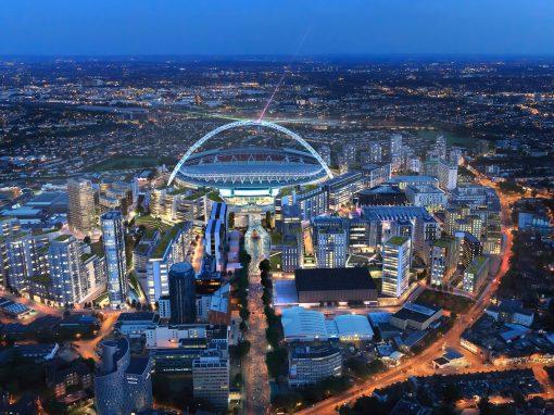 Aerial CGI's of Wembley Masterplan