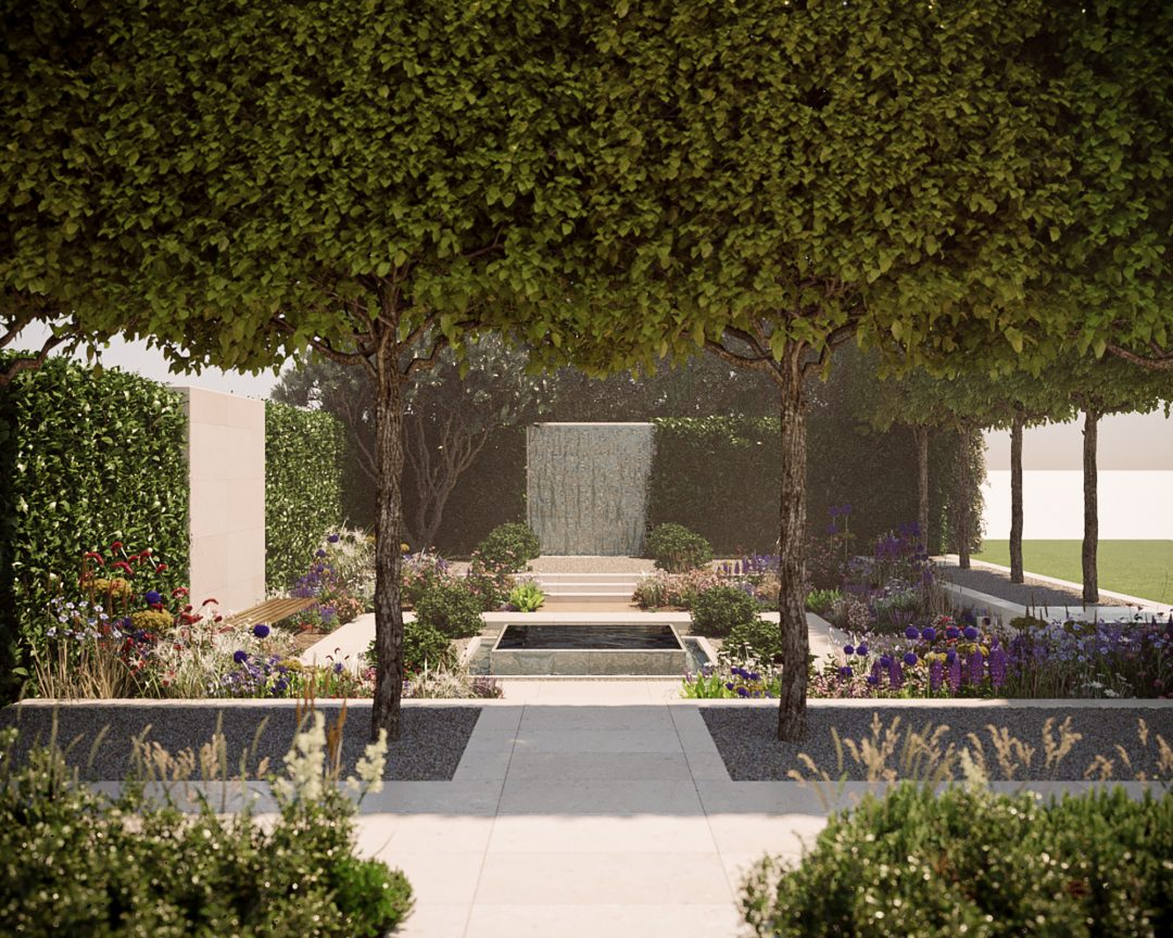 Chelsea Flower Show 2020 Landscape Visualisation