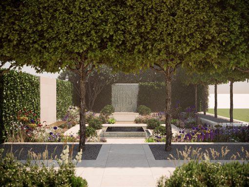 Chelsea Flower Show 2020 Landscape Visualisation