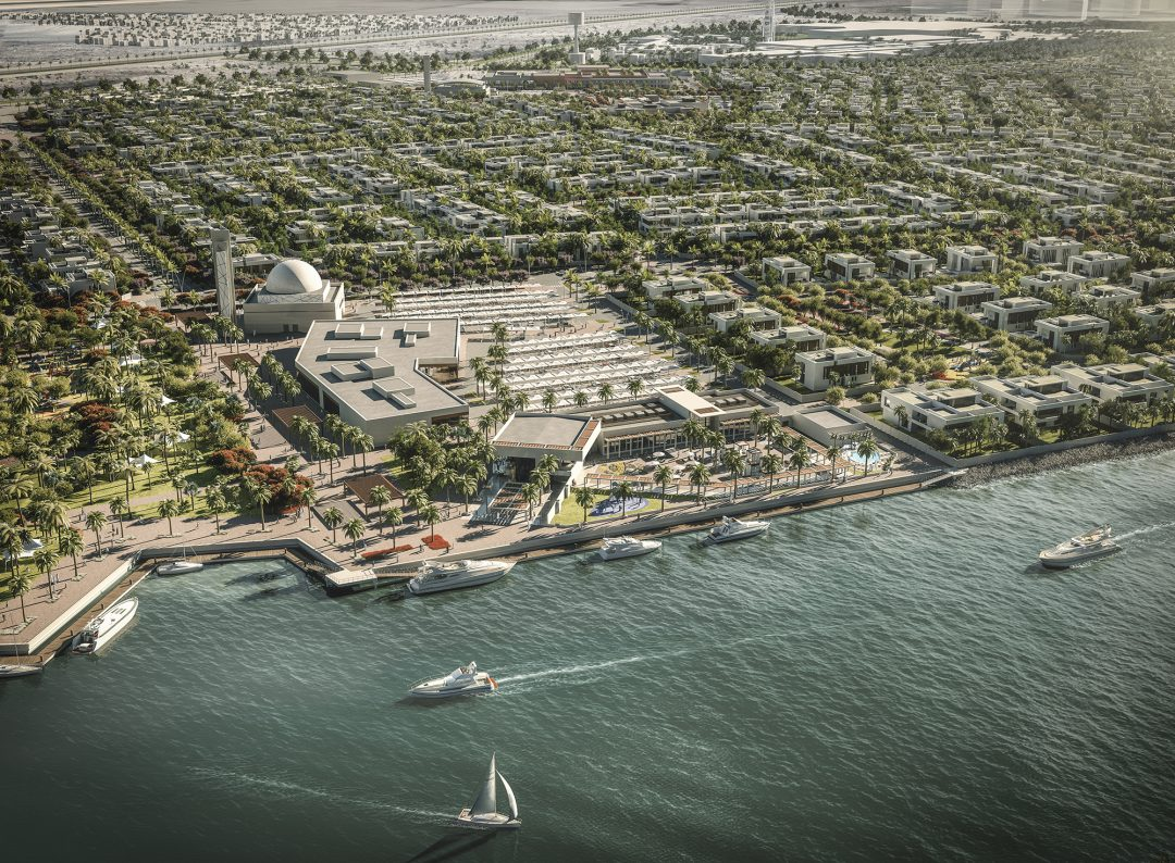 Yas Island, UAE Masterplan Visualisation