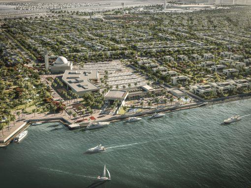 Yas Island, UAE Masterplan Visualisation